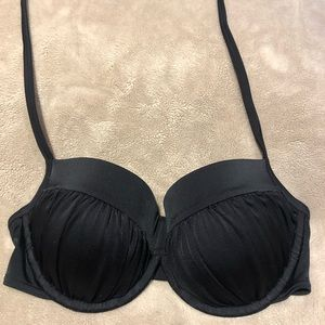 Victoria's Secret black bikini top